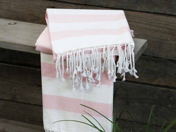 Chic Antique Badetuch St. Maxime (powder rose, 90 x 180 cm)