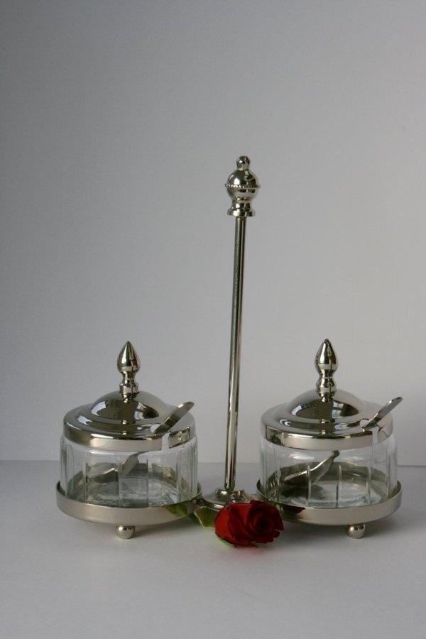 Marmeladen set mit 2 l ffeln und griff zucker honig tee - Liebenswert dekorieren ...